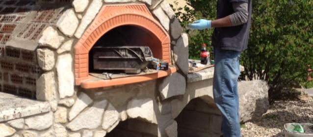 Outdoor DIY Pizza Oven