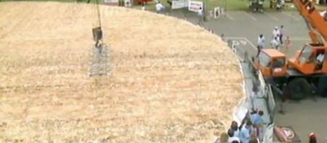 Worlds largest pizza, Guinness World Record for largest pizza,