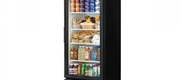 True 1 Glass Door Merchandiser Refrigerator Model GDM-23-HC-TSL01