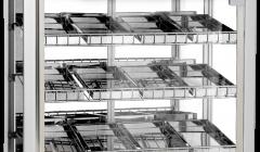 Skyfood Food Warmer Display Case - Triple Shelf 12 Pans - Steam Line