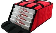 OVENHOT! PBF4/16/18D Red fabric delivery bags