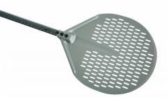 Round, Pizza Peel50Cm, Aluminum Head, Carbon Fiber Handle 150cm