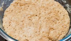 Whole Grain Pizza Dough: For Impatient People